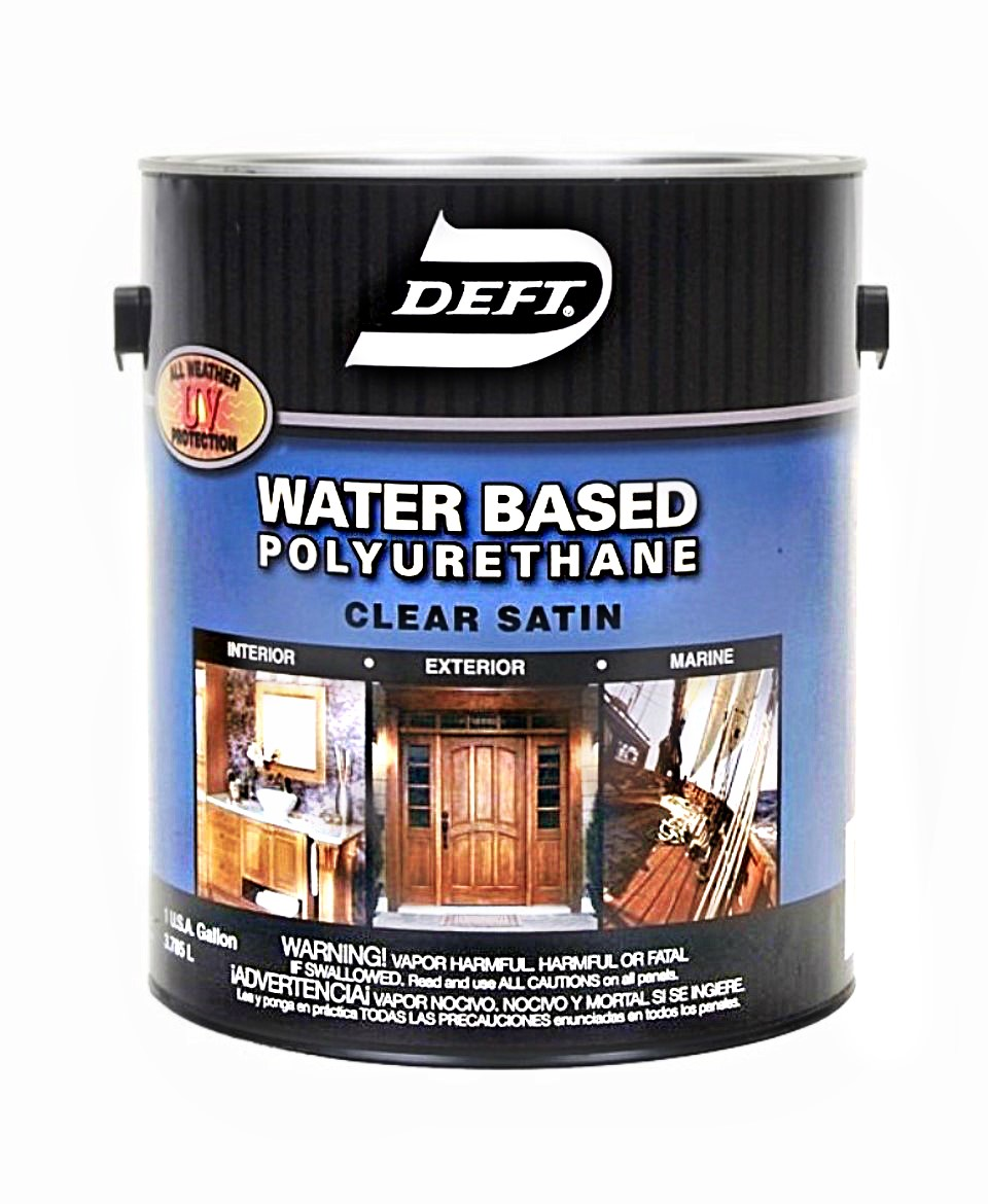 Buy The Deft Dft259 01 Polyurethane Water Base Clear