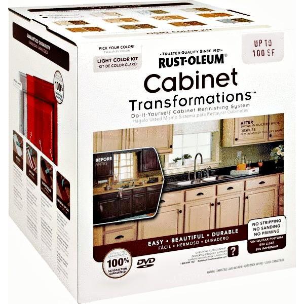 How To Refinish Kitchen Cabinets Yourself: Buy The RustOleum 258109 Cabinet Transformation Kit/Small