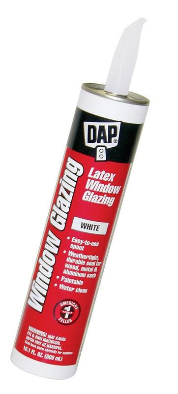 Dap Window Glazing : Buy the dap white latex window glazing hardware world