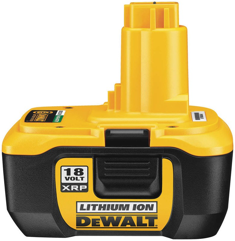Buy The Dewalt Dc9182 18v Xrp Lion Battery Hardware World