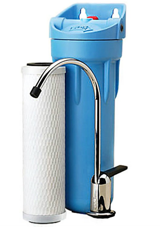Buy the omni pentair cbf3 s 05 water filter under sink w for Pentair water filters