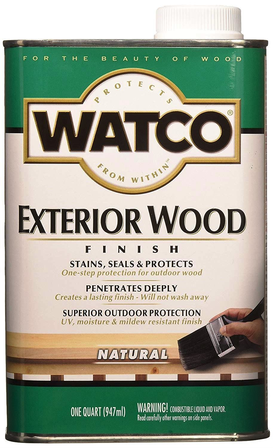 watco wood finish