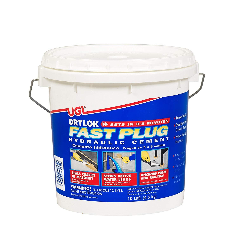 buy the ugl 00924 drylock fast plug 10 lb bucket hardware world