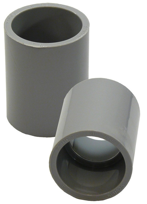 Buy the cantex c pvc coupling inch hardware world