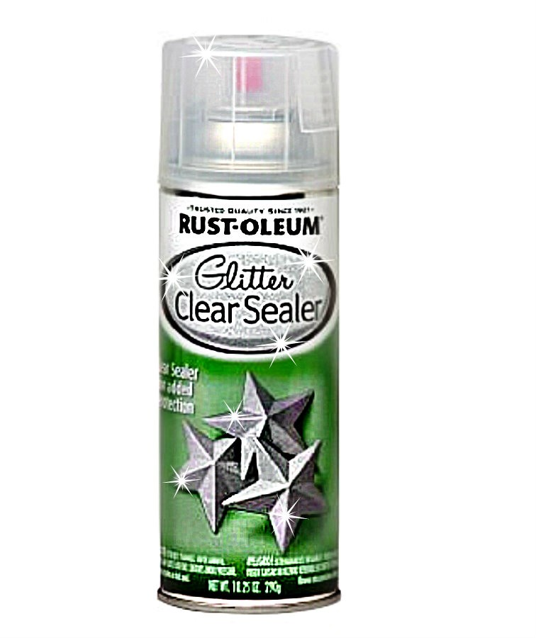 buy the rustoleum 267736 spray glitter clear sealer top. Black Bedroom Furniture Sets. Home Design Ideas