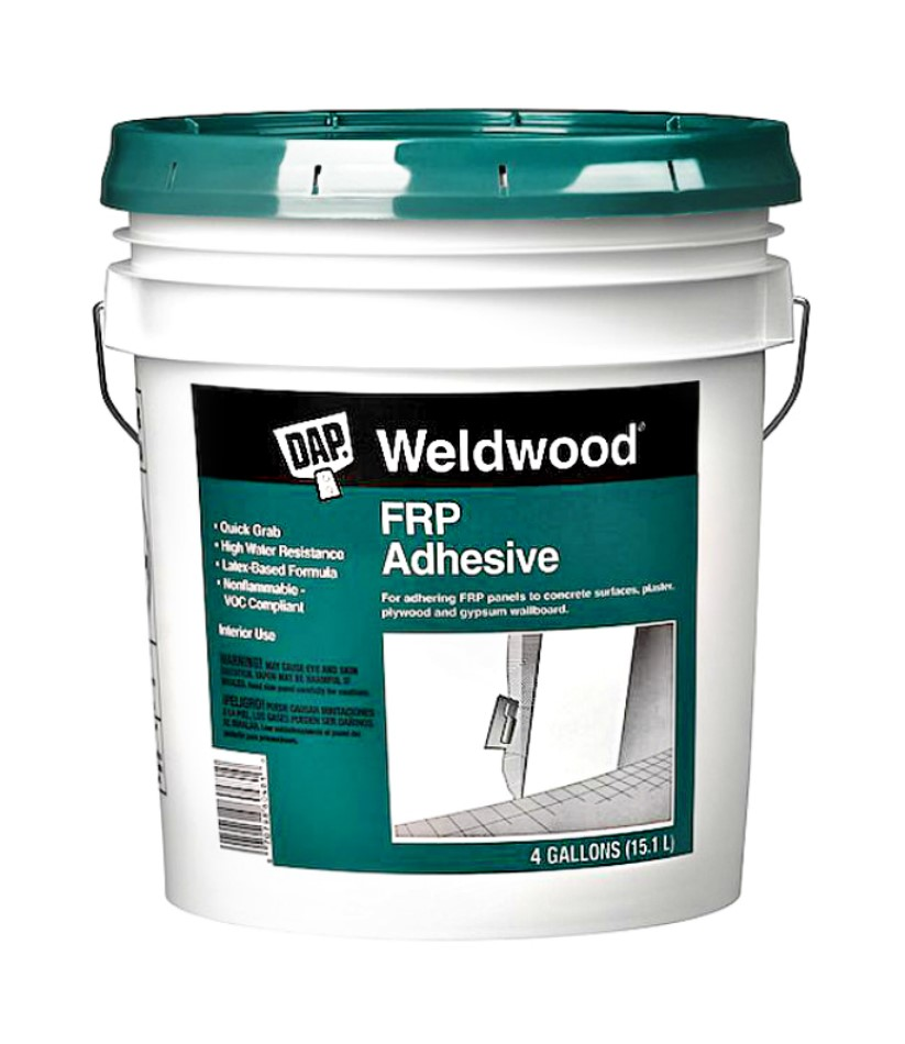 Frp Adhesive Trowel : Buy the dap weldwood frp adhesive gallon bucket