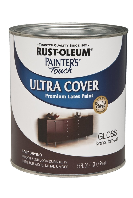 Buy The Rust Oleum 1977502 Kona Brown Gloss Quart