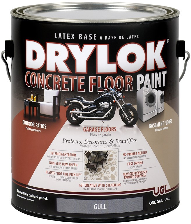 Buy The Ugl 21313 Drylok 174 Concrete Floor Paint Gull Gray