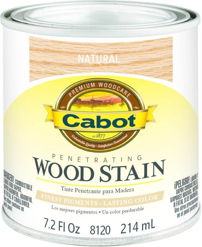 Buy The Cabot 1440008120003 Wood Stain Natural 1 2 Pint Hardware World