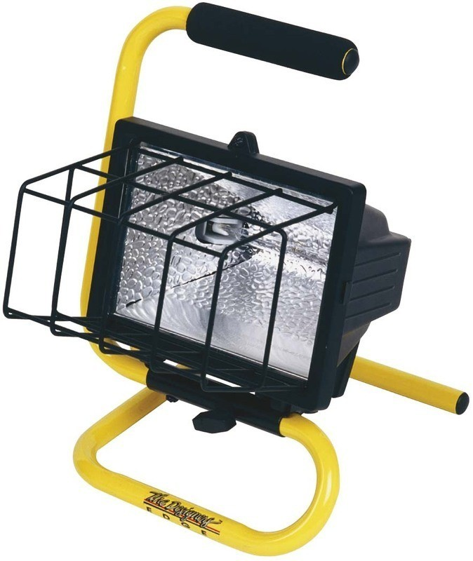 Designers Edge By Coleman Cable L1325 Ecozone Portable: Buy The The Designers Edge/Coleman Cable L-18-500W Halogen