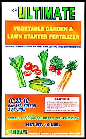 Buy The Ultimate 150 Vegetable Garden Lawn Starter Fertilizer 10 Lbs Hardware World