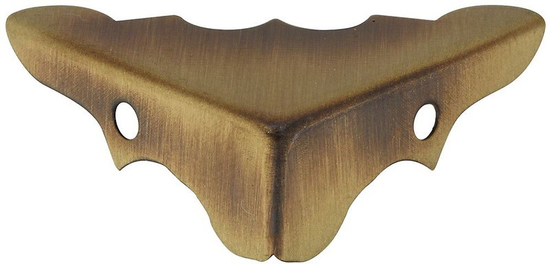Buy the national decorative corners antique brass