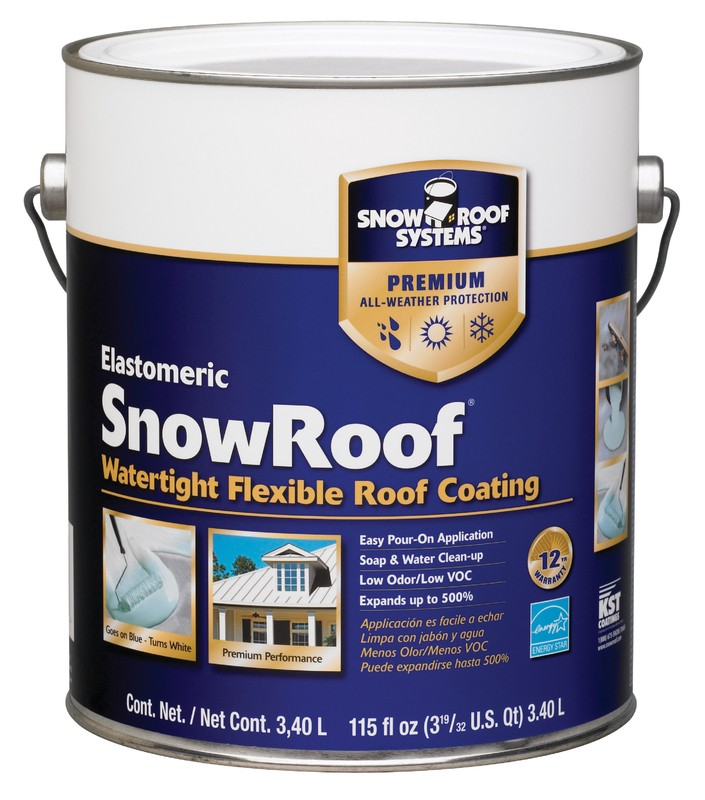 Buy The Snow Roof Kst Kst000srb 16 Elastomeric Snow Roof