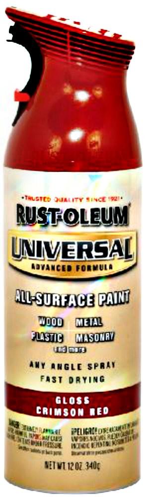 Rustoleum Crimson Red Spray Paint