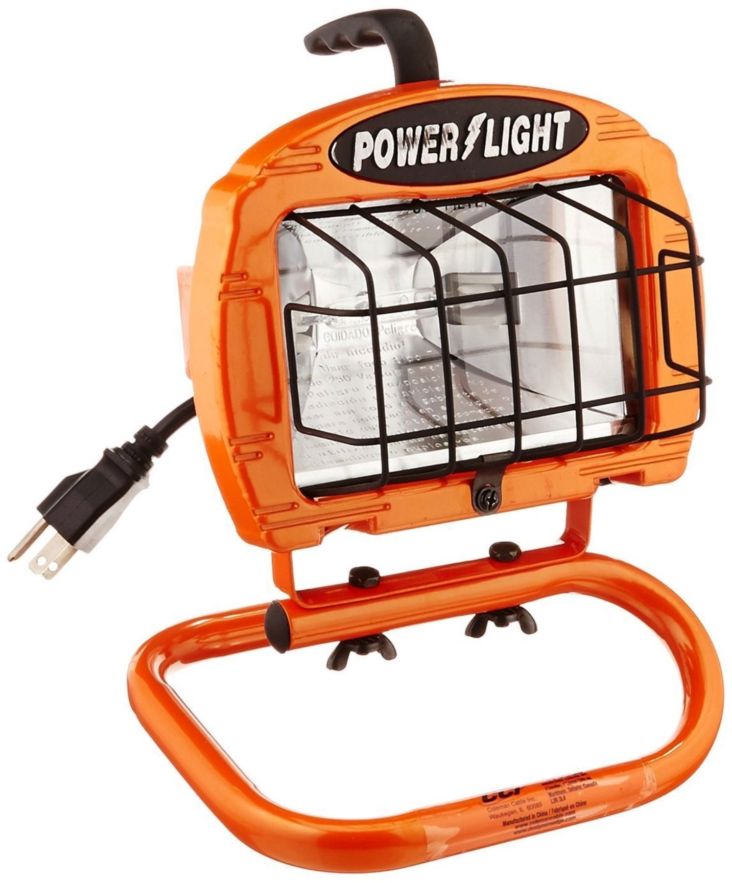 Designers Edge By Coleman Cable L1325 Ecozone Portable: Buy The Coleman Cable L860 Halogen Portable Work Light
