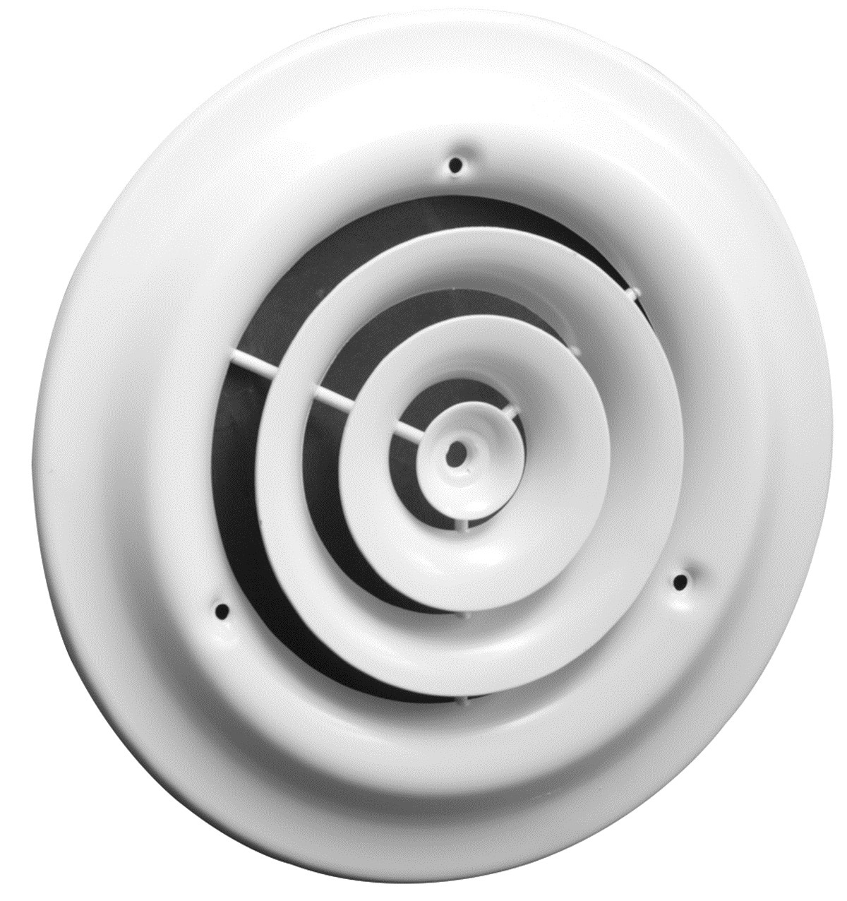 Buy The Hart Amp Cooley 1500w6 Round Ceiling Diffuser White