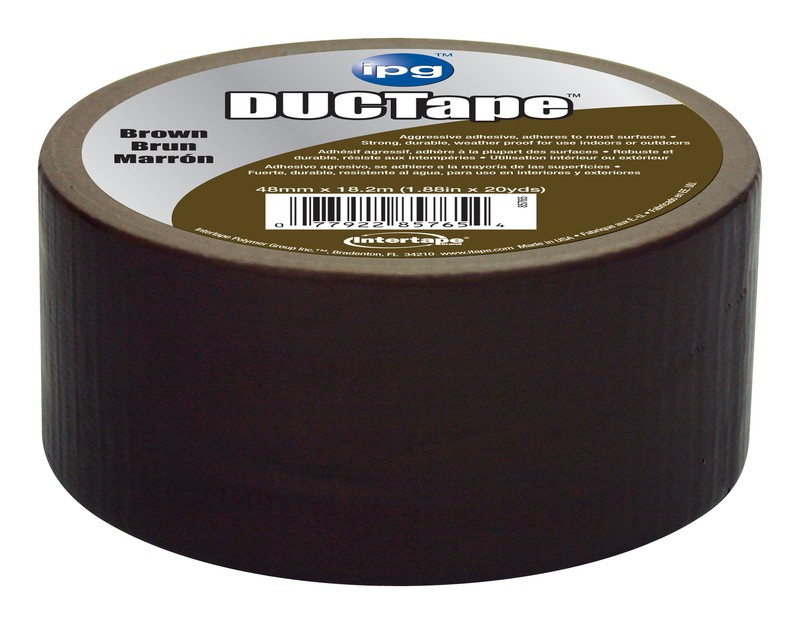 buy the intertape 6720brn 2x20yd brown duct tape at