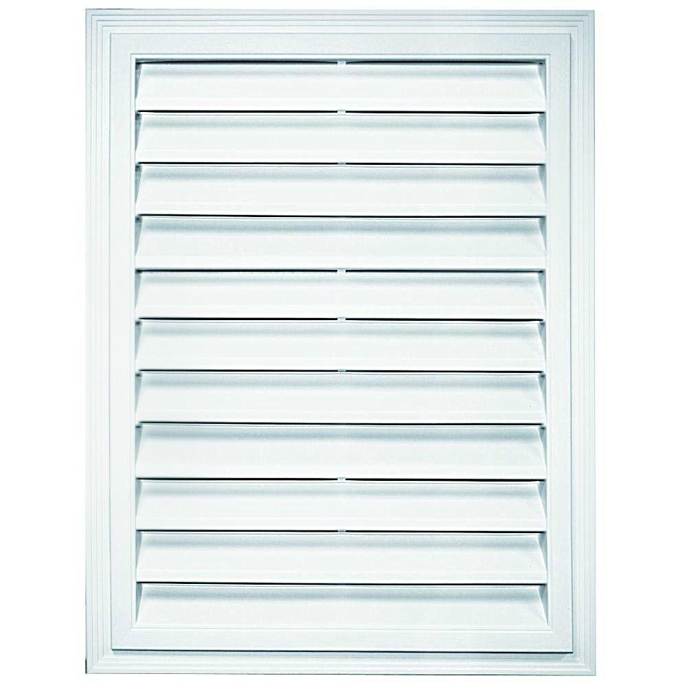 Buy The Builders Edge 120072430001 Rectangular Gable Vent
