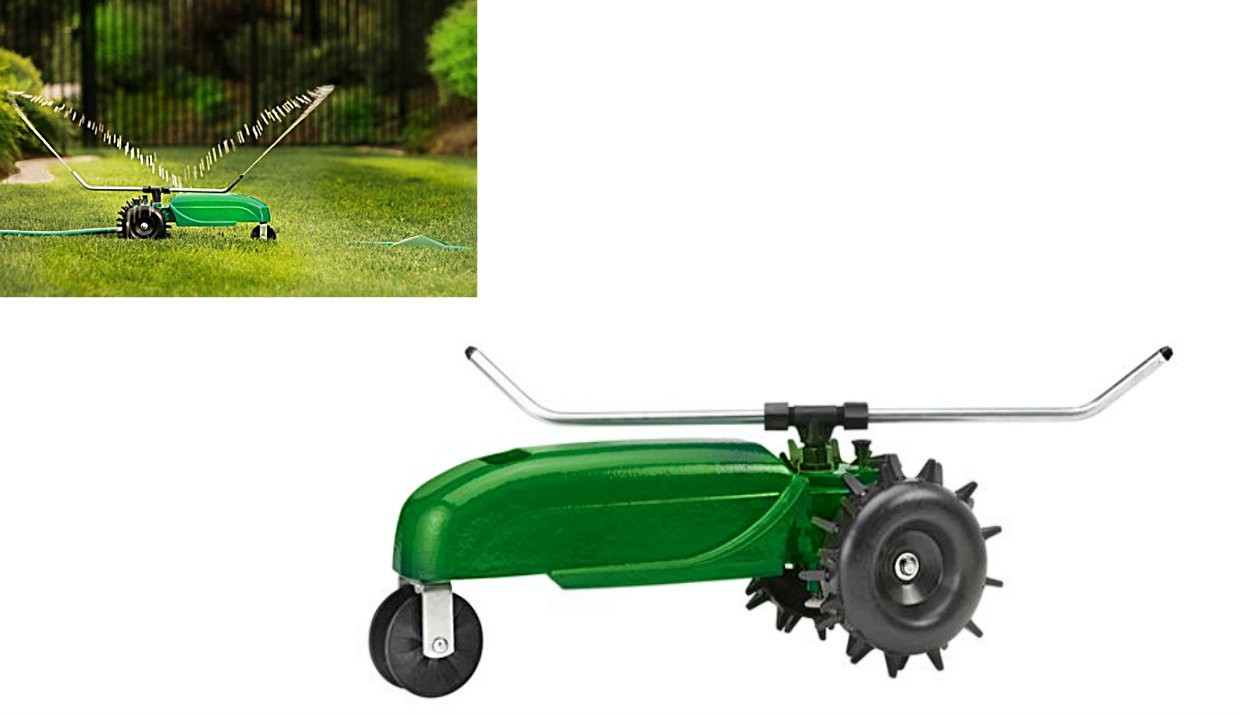 Tractor Sprinkler Shut Off : Buy the orbit irrigation traveling tractor sprinkler