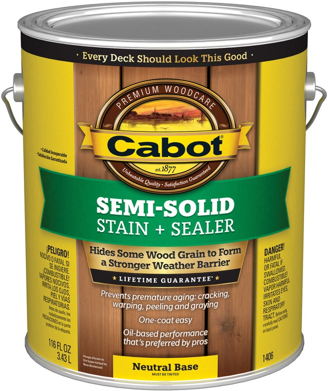decking stain cabot semi solid decking stain