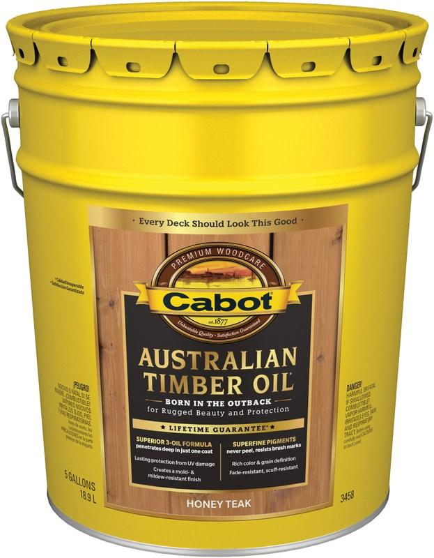 Buy The Cabot 140 0003458 008 Australian Timber Oil Honey