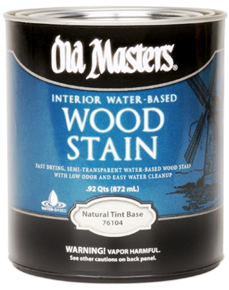 Buy The Old Masters 76101 Water Based Interior Wood Stain Tint Base Gallon Hardware World