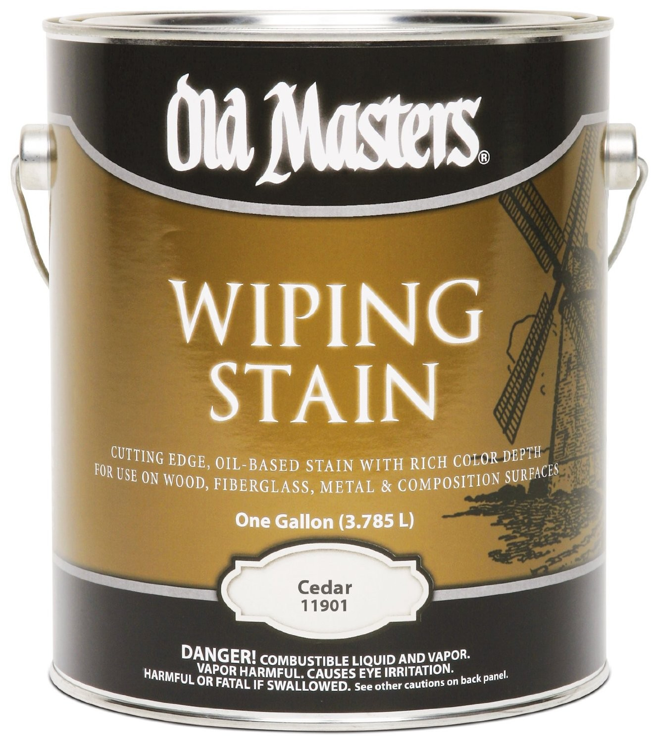 Buy The Old Masters 11901 Wiping Wood Stain, Cedar