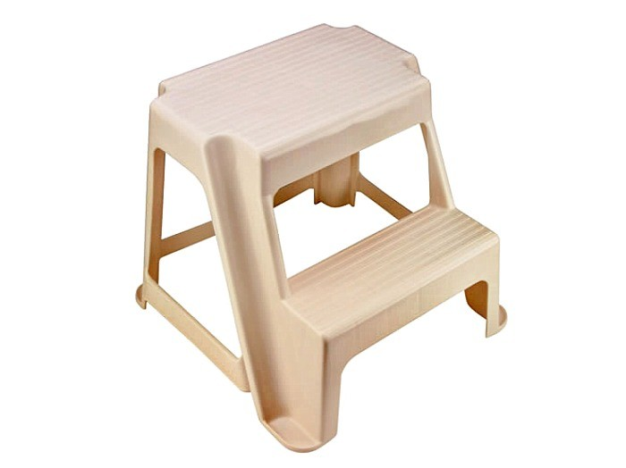 Buy The Rubbermaid 420200bisqu 2 Step Step Stool At Hardware World