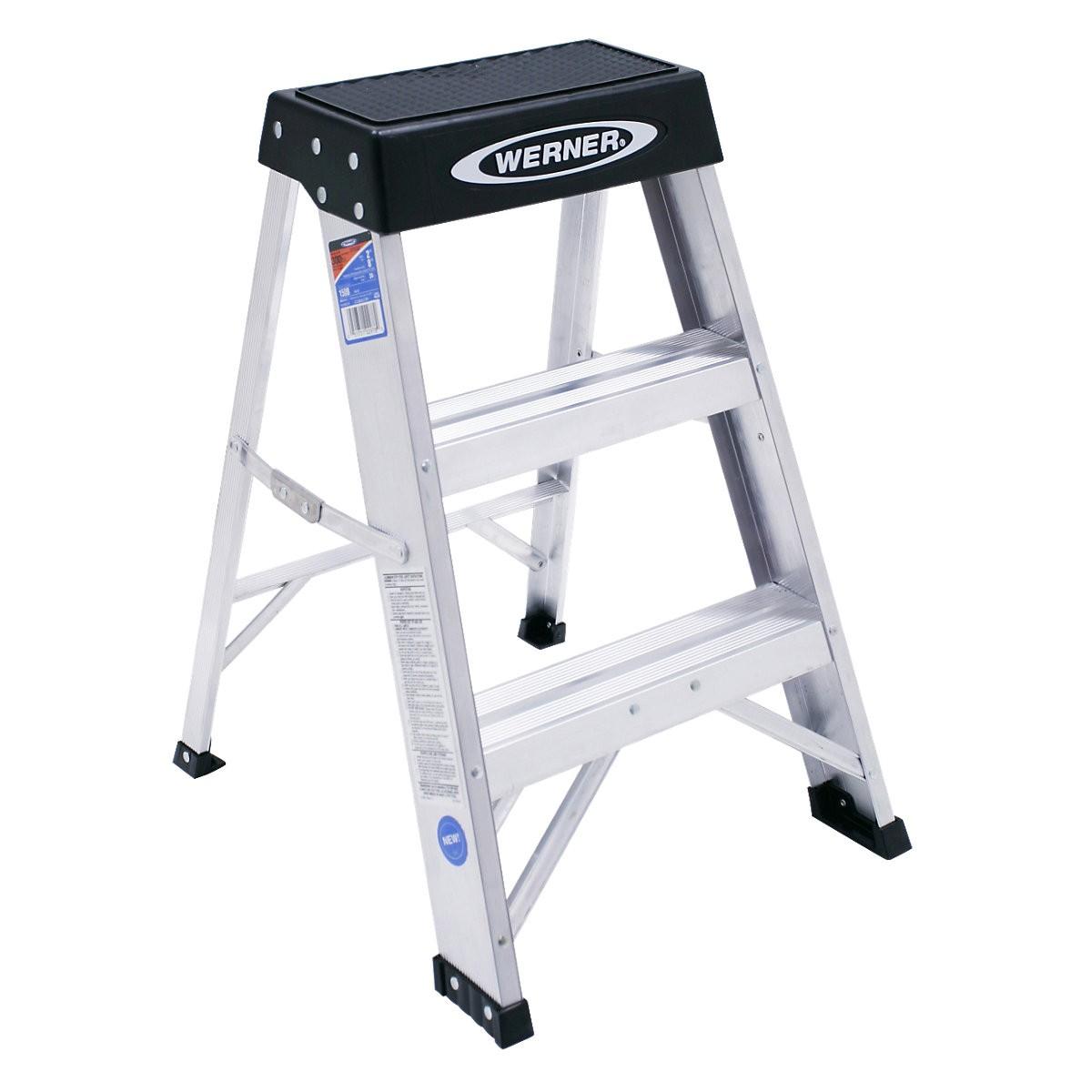 Ia 2 ft aluminum step stool type ia 2 ft