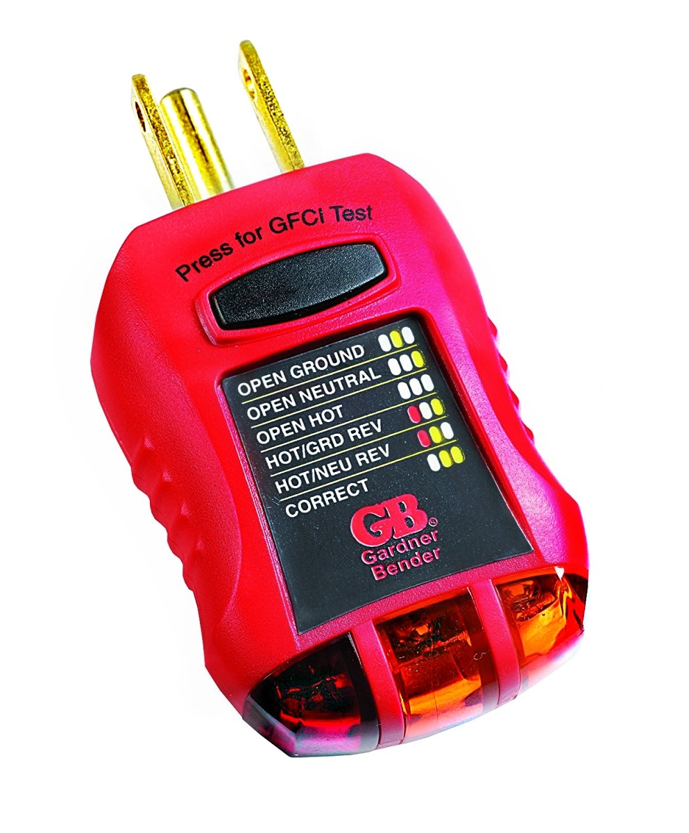 Ground Fault Indicator Testers : Buy the gardner bender gfi ground fault receptacle