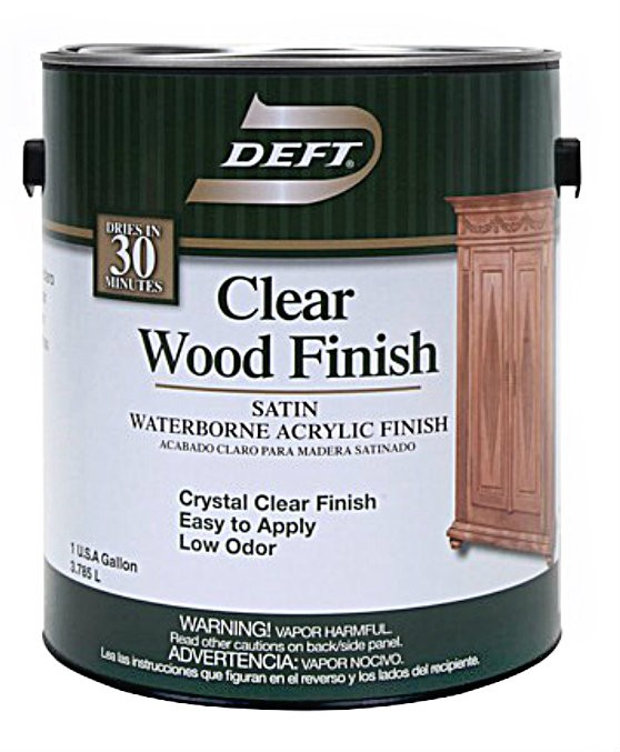 Buy The Deft 10901 Waterborne Clear Wood Finish Satin Gallon Hardware World