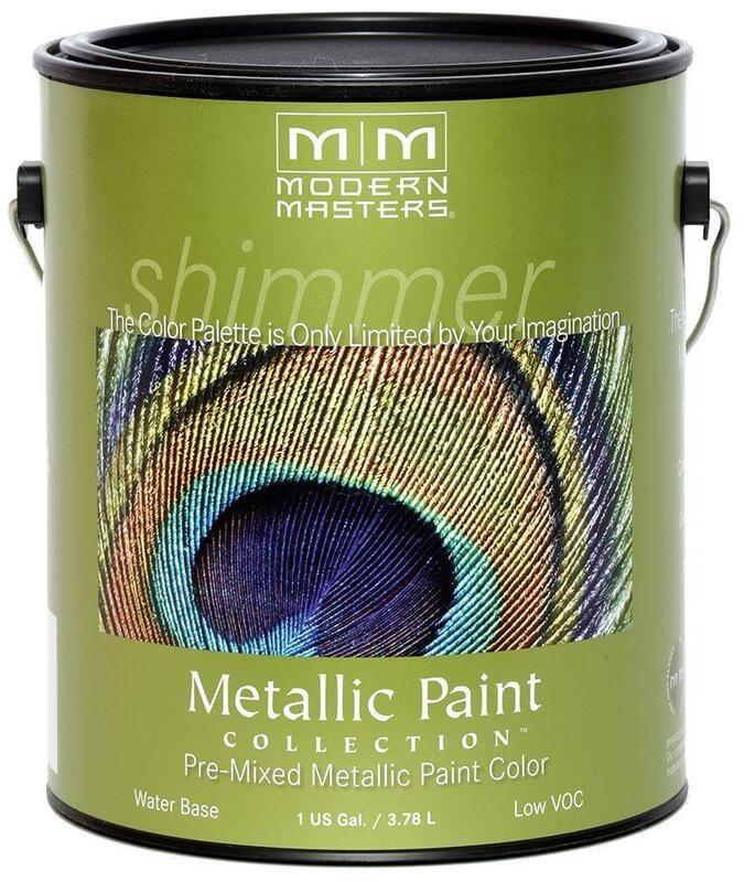 Modern Masters Metallic Paint Gallon