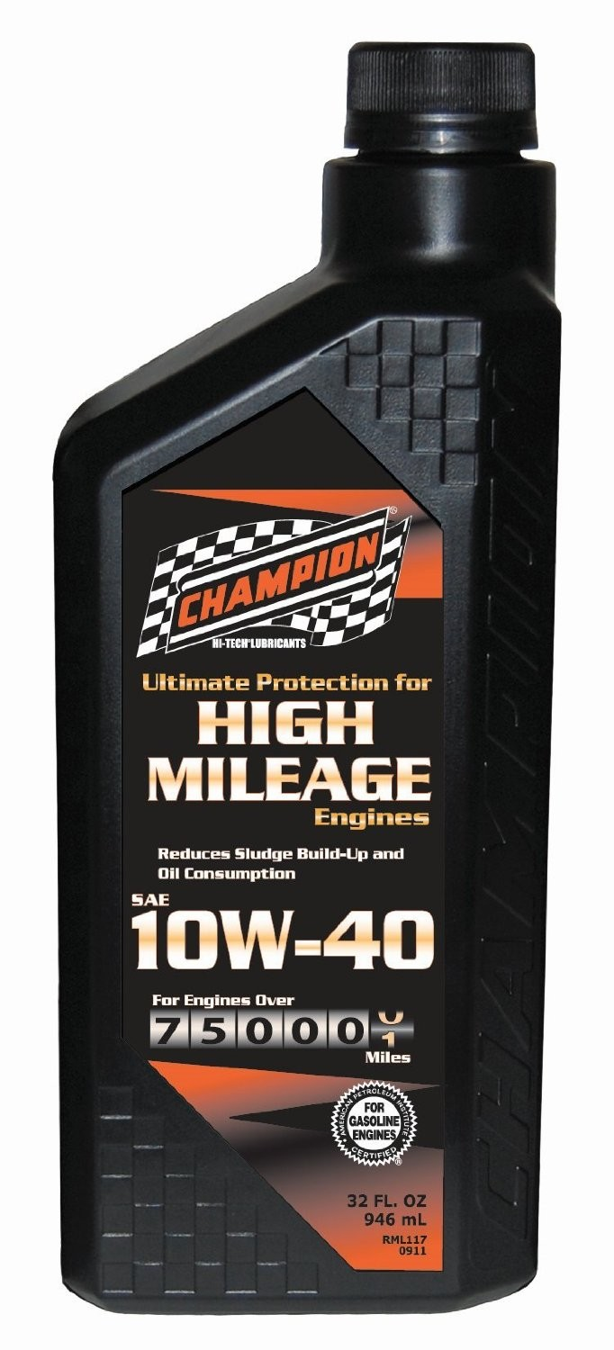 Buy The Champion 4030h Motor Oil High Mileage 10w 40