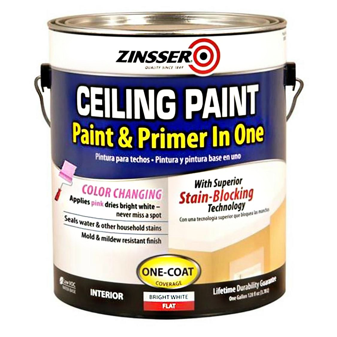 buy the rust oleum 260967 ceiling paint 1 gallon hardware world. Black Bedroom Furniture Sets. Home Design Ideas
