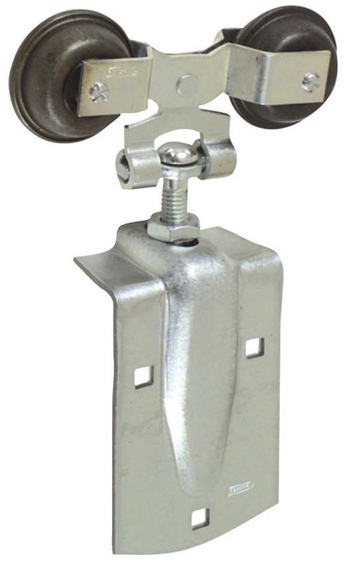 Buy the hardware house 536995 barn door hanger round for Track hanger