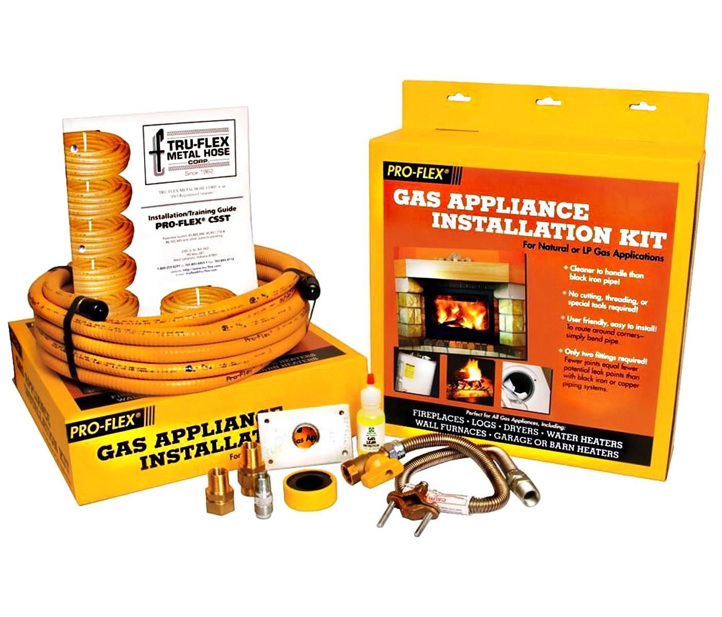 Gas Appliance Installation : Buy the pro flex pfsagk gas appliance installation