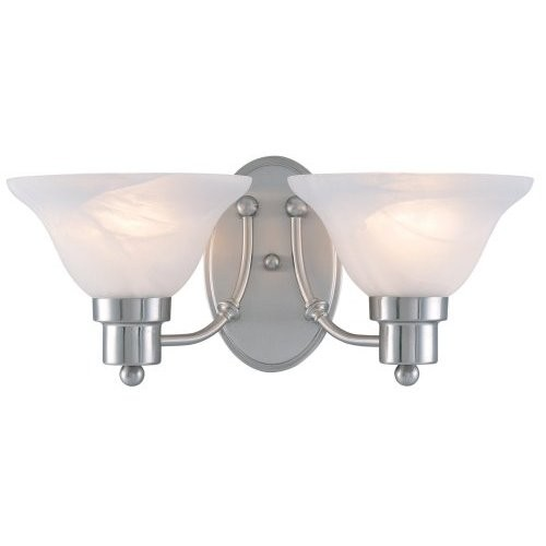 Buy The Hardware House 544478 Wall Light Fixture- 2 Light