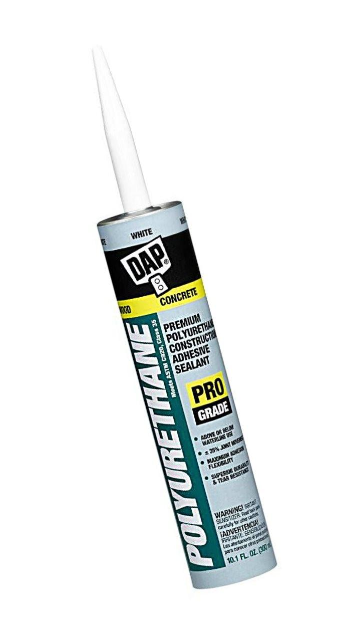 Buy the dap 18810 premium poly construction adhesive - Commercial grade exterior caulking ...