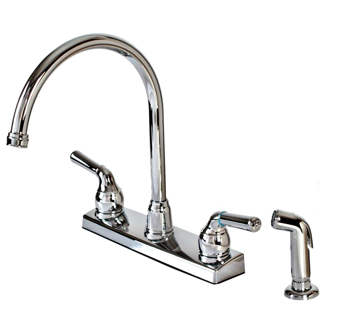 buy the hardware house 8236gntp kitchen faucet w sprayer