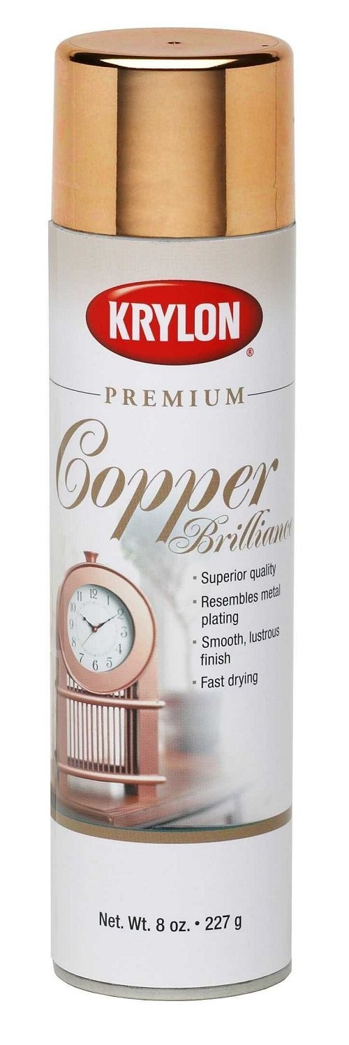 Buy The Krylon K01020a Metallic Spray Paint Copper Brilliance 8 Oz Hardware World