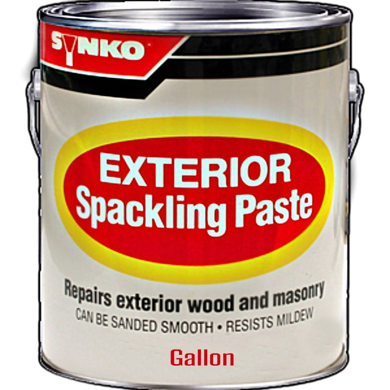 buy the inksolutions 1201 synkoloid spackle paste exterior gallon hardware world