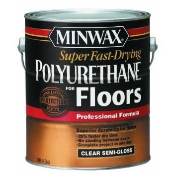 Buy The Minwax 13021 Fast Drying Polyurethane Semi Gloss Gallon Hardware World