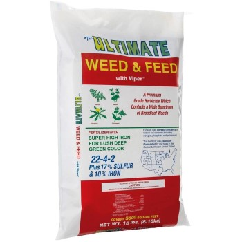 Ultimate Weed & Feed With Trimec Post-Emergen ~ 18 Pounds