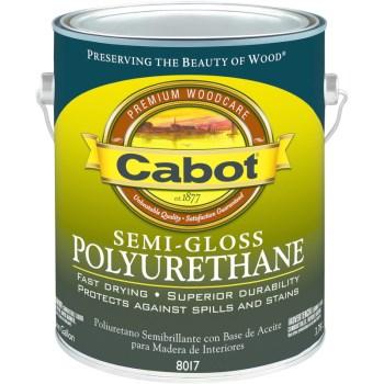 Buy The Cabot 1440008017005 Semi Gloss Polyurethane One Quart Hardware World