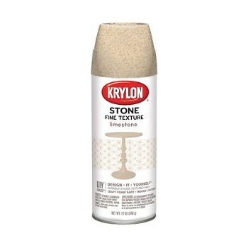 Buy the krylon k03703000 textured finish spray natural for Stone spray paint projects