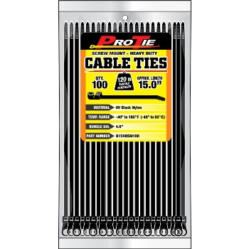 Cable Ties, 15 in.