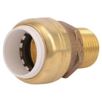 1/2in. Sb Pvc Connector