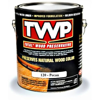 Total Wood Preservative ~ Pecan, One Gallon