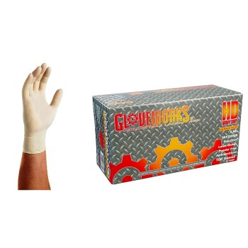 Large Heavy Duty Latex Glove