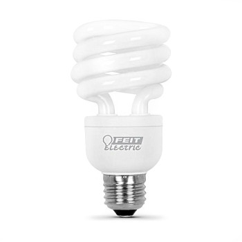 Compact Fluorescent Light Bulb, Mini Twist 15 Watt